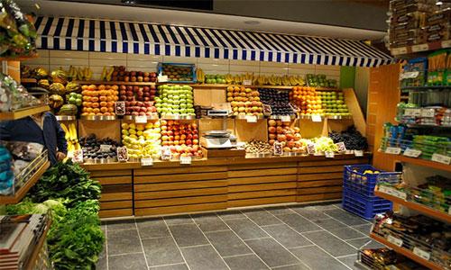 چیدمان سوپر مارکت