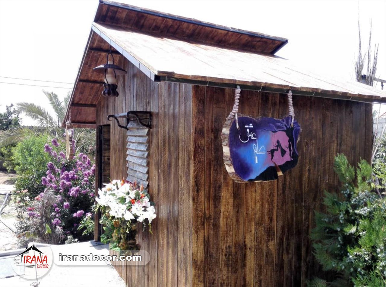 دکوراسیون داخلی باغ سنتی